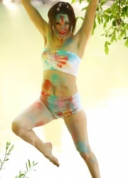 Hayden Teases As She Is All Painted Up - Picture 14