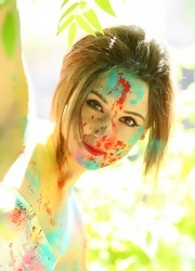 Hayden Teases As She Is All Painted Up - Picture 4