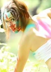 Hayden Teases As She Is All Painted Up - Picture 5