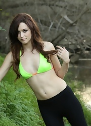 Hayden Poses By The Waters - Picture 2